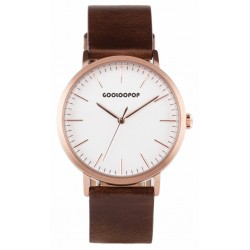 MINIMALIST WHITE@ROSE GOLD BROWN MW