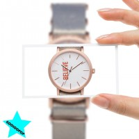 Gooloopop MixMe Watch - Amen@Believe Rose Gold